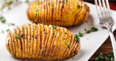 Recette des pommes de terre Hasselback
