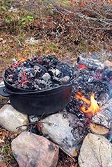 Grillade cuisson extérieure