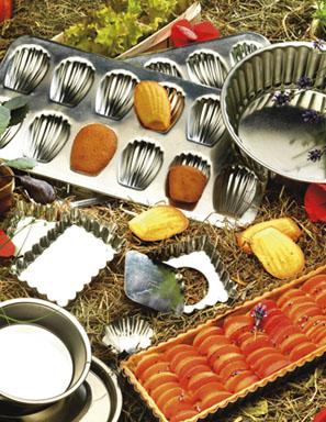 ustensile de cuisine en inox et cuivre