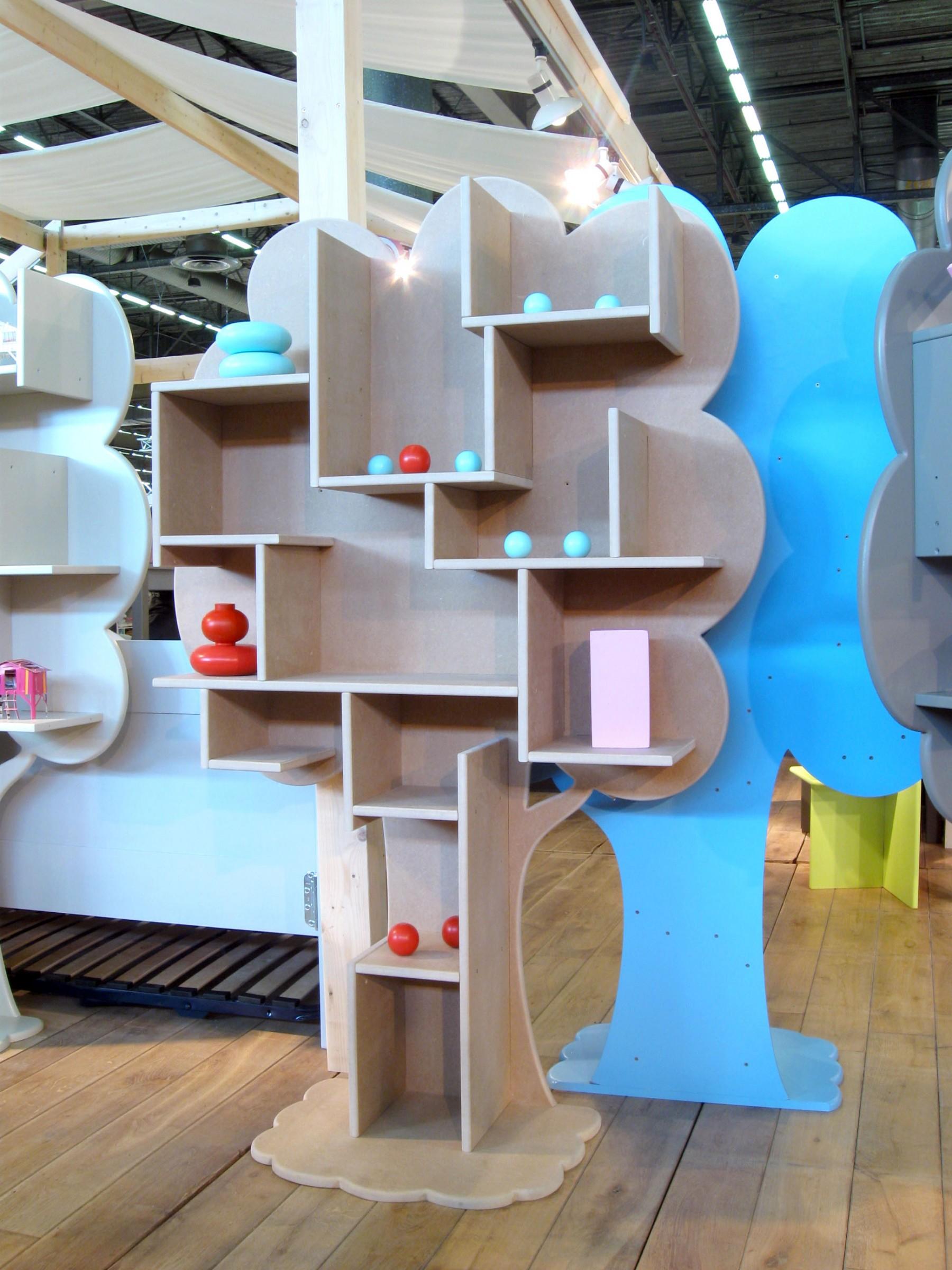 arbre biblioth que pour chambre enfant mathy by bols. Black Bedroom Furniture Sets. Home Design Ideas