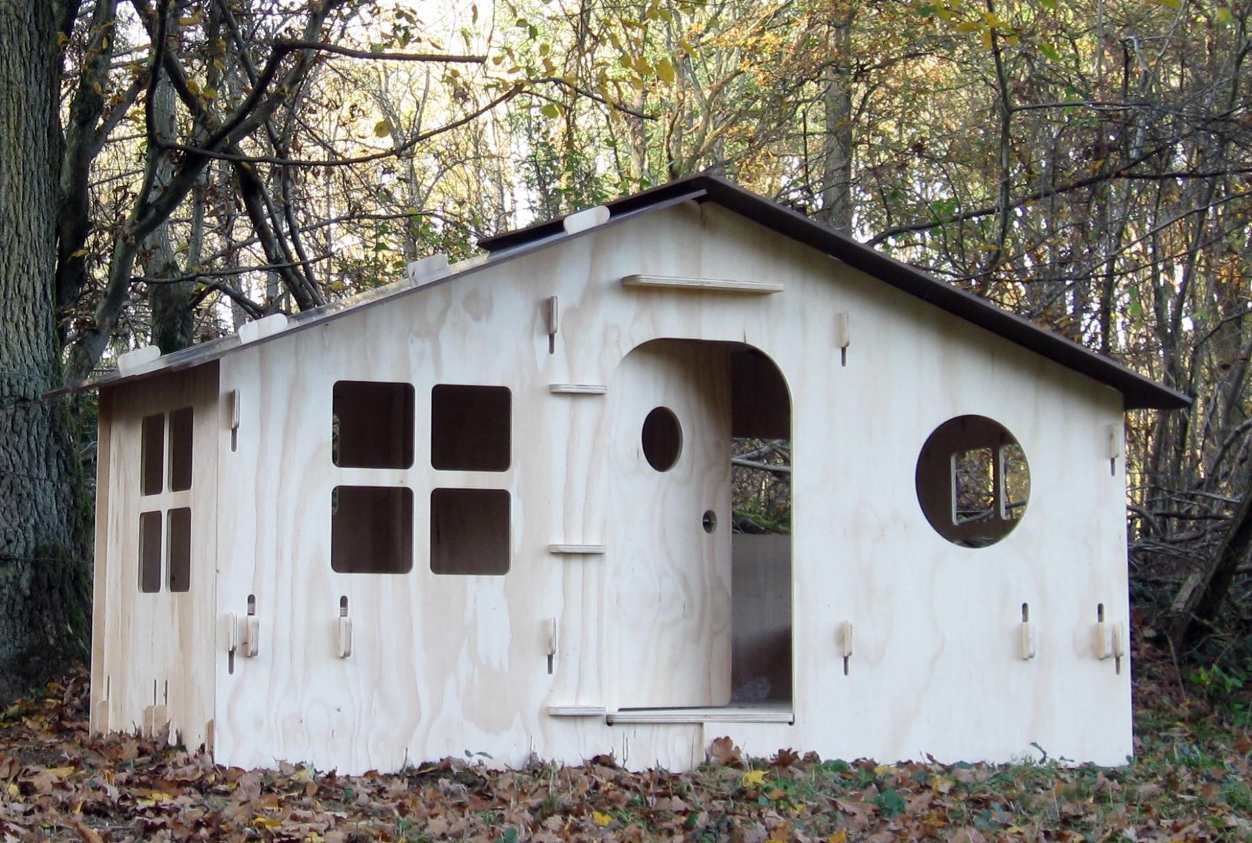 cabane chalet lola pour enfant mathy by bols. Black Bedroom Furniture Sets. Home Design Ideas