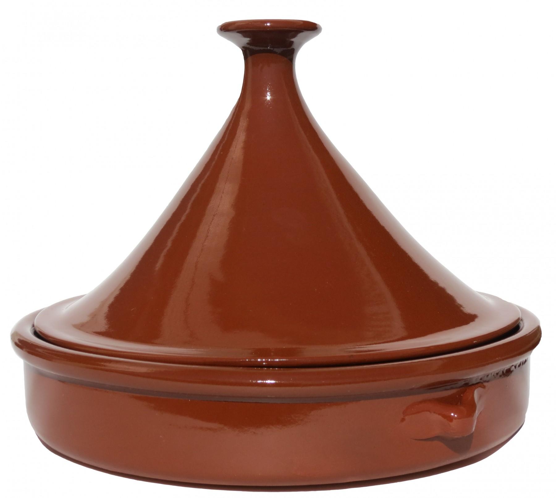 Plat a tajine en terre cuite sans plomb - Cuisiner avec un tajine en terre cuite ...