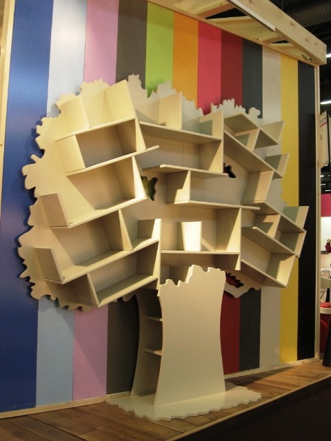 arbre biblioth que tess pour rangement ecodesign. Black Bedroom Furniture Sets. Home Design Ideas