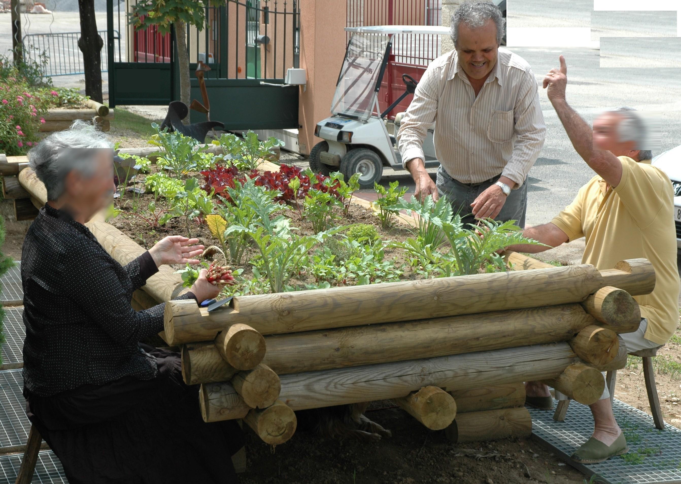Un jardin en hauteur pour jardiner debout for Catalogue de jardinage par correspondance