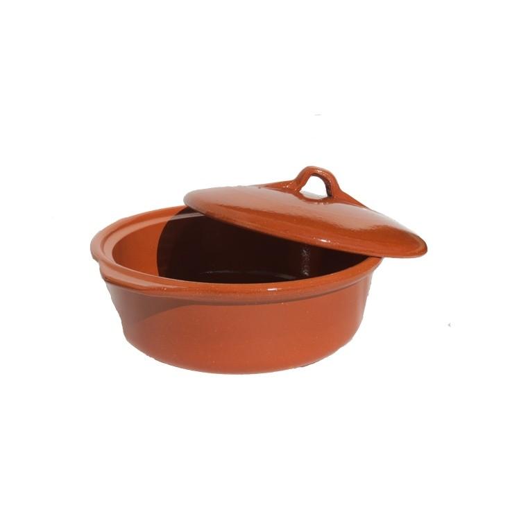 Cocotte faitout en terre cuite