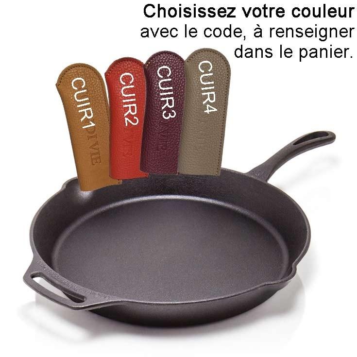 Poele de cuisine en fonte