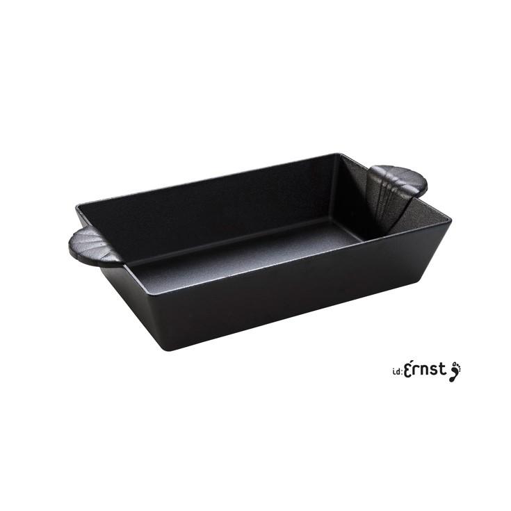 plat en fonte rectangulaire