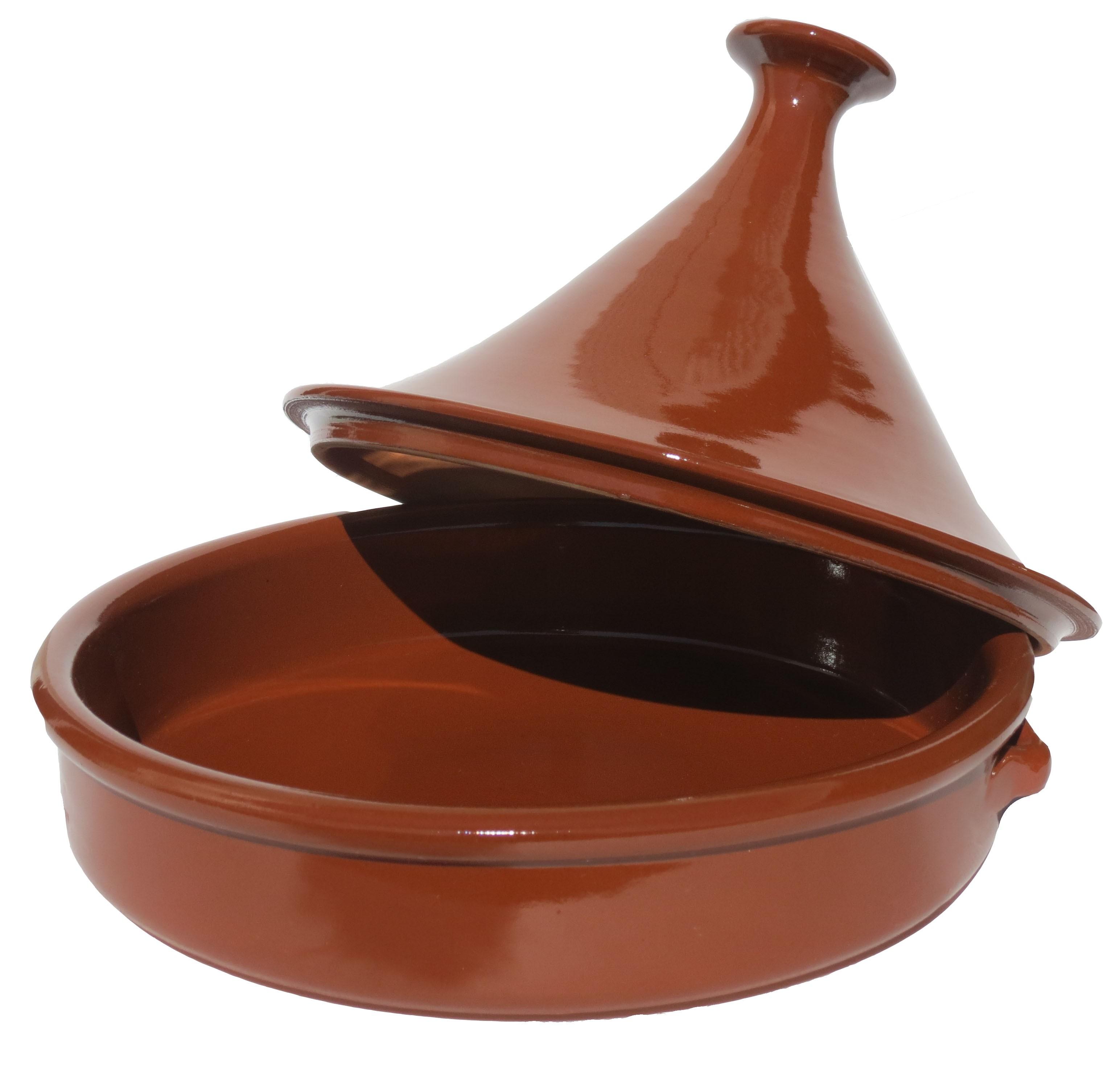 plat à tagine en terre