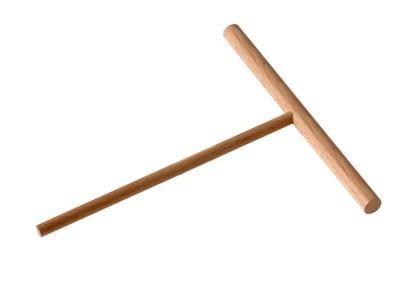 râteau à crêpe - rozell 13 cm