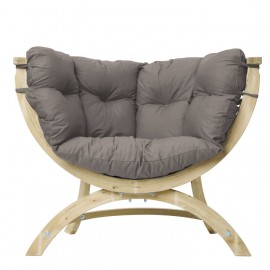 Fauteuil Siena Uno - Taupe