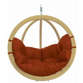 Balancelle ronde bois - Terracotta