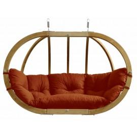 Balancelle ovale bois - Terracotta