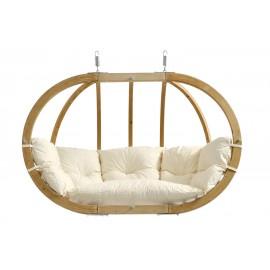 Balancelle ovale bois - Natura
