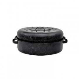 Cocotte ovale Graniteware Moyen modele