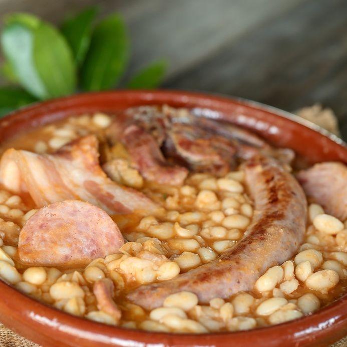 Cassoulet plat en terre cuite